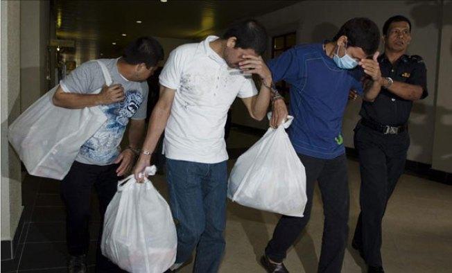 Mexicanos condenados a la horca