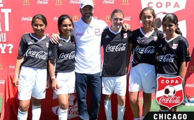 Luis García en Chicago con Alianza de Futbol