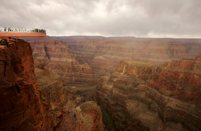 Turista cae 350 pies en el Gran Cañón