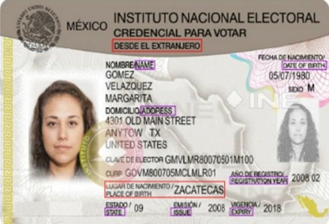 M Xico Credencial Para Votar Desde El Extranjero Telemundo Arizona