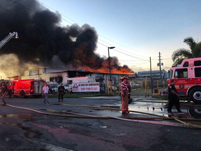 Se mantiene cerrada la PR-28 por seguridad tras incendio
