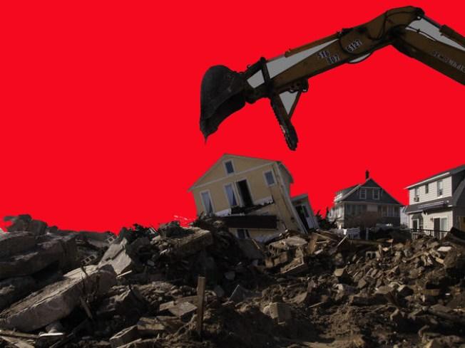Sin hogar por construcción de autopista