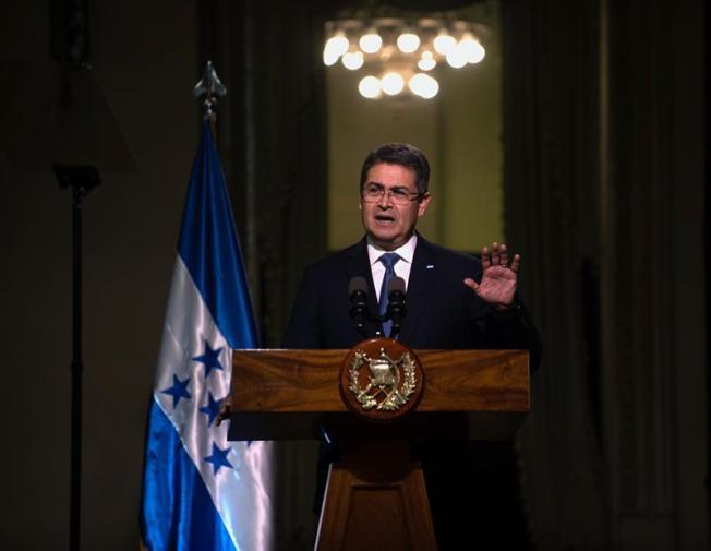 DEA investigó al presidente de Honduras y gente cercana