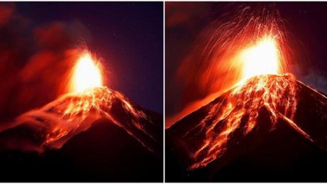 Otra vez: emergencia por erupción del Volcán de Fuego