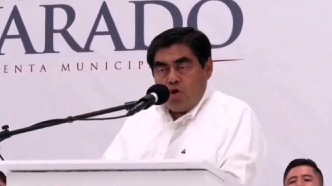 Gobernador atribuye muerte de rival a castigo divino