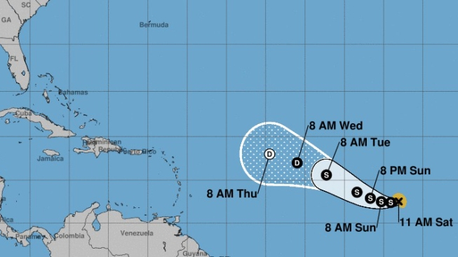 Cuba vigila de cerca nueva depresión tropical en el Atlántico