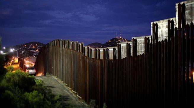 Balacera en la frontera