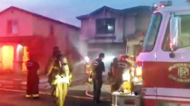 Incendio causa estragos en vivienda