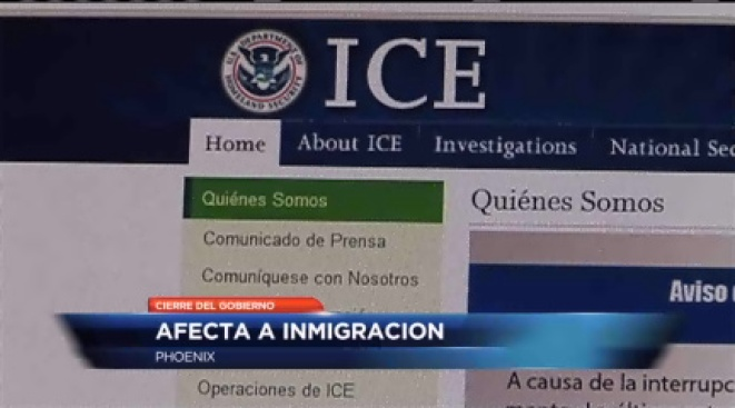 ICE afectado
