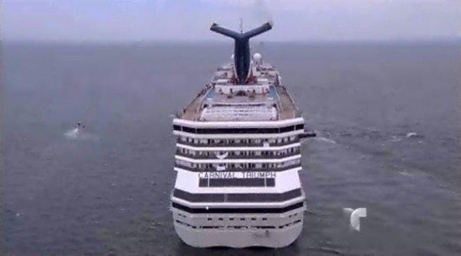 "Contra Carnival por ir en ""retrete flotante"""