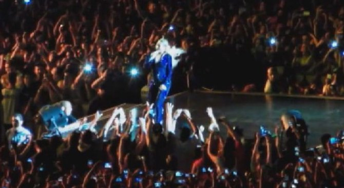 Violento mini rapto de Beyoncé en Brasil