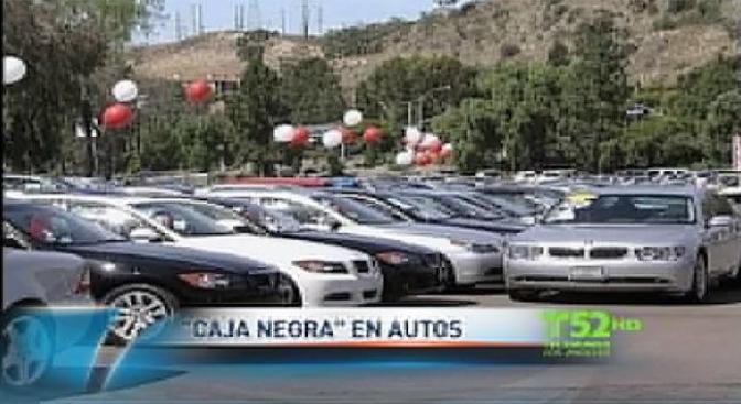 ¿Caja negra para autos?