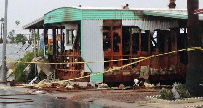 Hombre muere tras incendio en vivienda