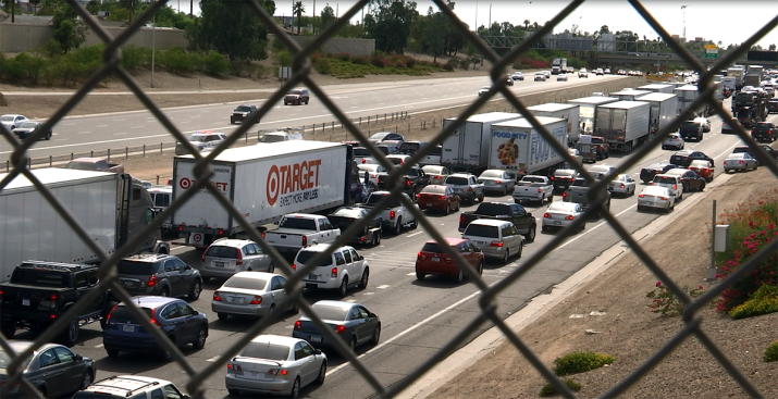 Termina tráfico tras aparatoso accidente en I-10