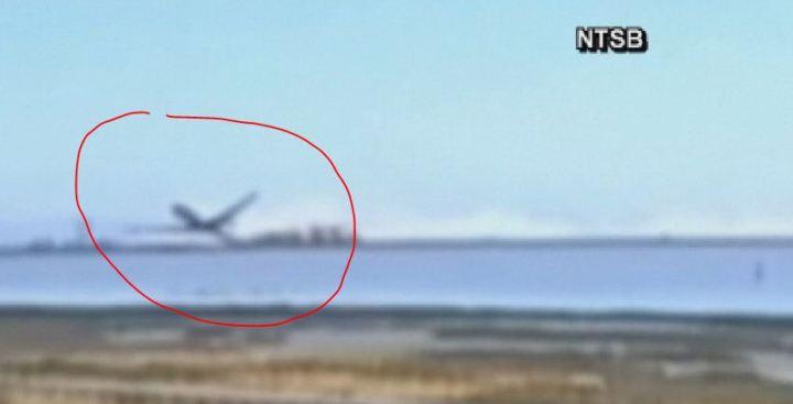 Video muestra desastre aéreo de Asiana